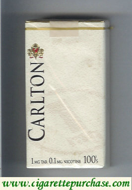 Carlton 100s cigarettes 1mg tar soft box