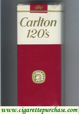 Carlton 120s cigarettes Filter soft box