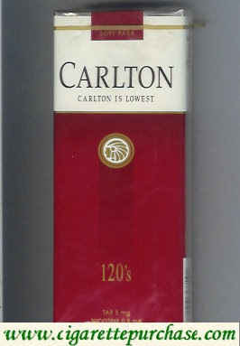 Discount Carlton 120s cigarettes lowest Filter