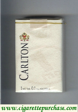 Discount Carlton 1mg tar cigarettes soft box