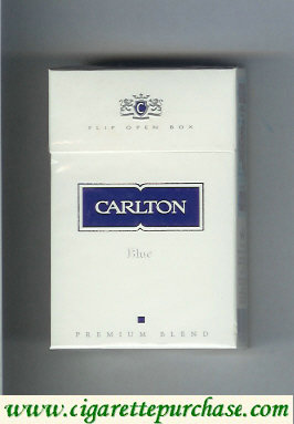 Discount Carlton Blue cigarettes Premium Blend