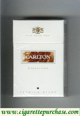 Discount Carlton Cappuccino cigarettes Premium Blend