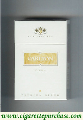 Discount Carlton Crema cigarettes Premium Blend