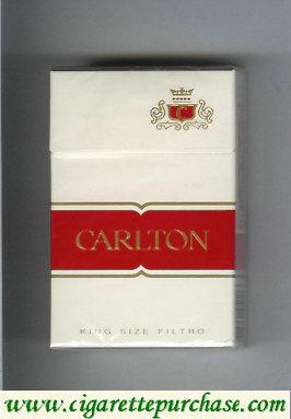 Discount Carlton King Size Filtro cigarettes
