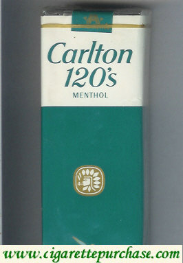 Discount Carlton Menthol 120's cigarettes Filter soft box