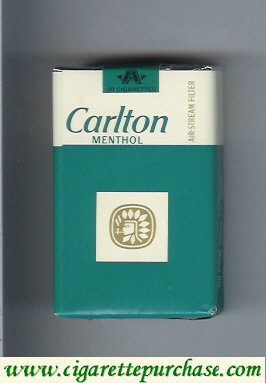 Discount Carlton Menthol cigarettes Filter