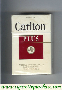 Discount Carlton Plus cigarettes Charcoal Filter