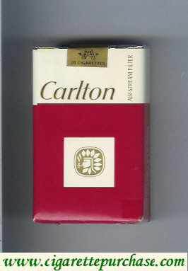 Discount Carlton cigarettes air stream Filter soft box