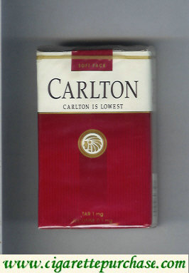 Discount Carlton lowest cigarettes soft box