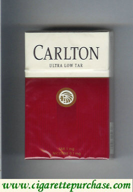 Discount Carlton ultra low tar cigarettes