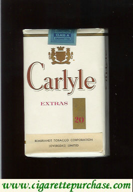 Discount Carlyle Extras cigarettes