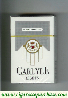 Discount Carlyle Lights cigarettes