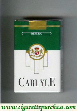 Discount Carlyle Menthol cigarettes