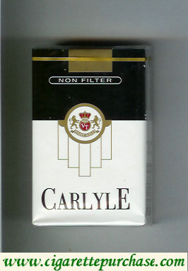 Carlyle Non Filter cigarettes