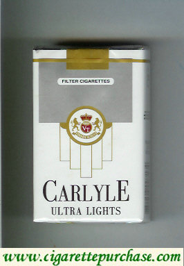Carlyle Ultra Lights cigaretrttes