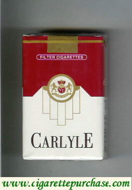 Discount Carlyle filter cigarettes