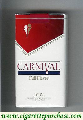 Discount Carnival 100s Full Flavor cigarettes