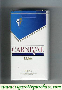 Discount Carnival 100s Lights cigarettes