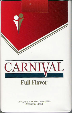 Discount Carnival Full Flavor cigarettes soft box