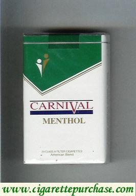 Discount Carnival Menthol cigarettes