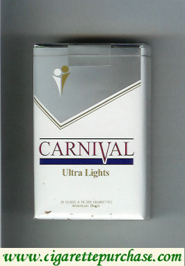 Discount Carnival Ultra Lights cigarettes