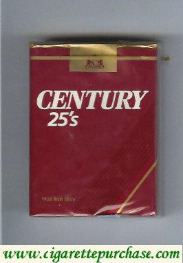 Discount Century 25s cigarettes