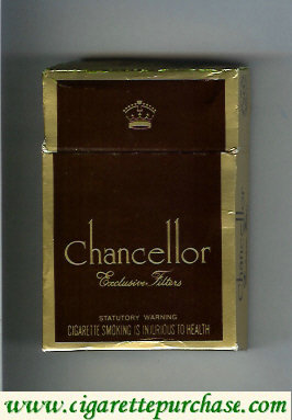 Chancellor Exclusive Filters cigarettes