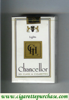Chancellor Lights cigarettes