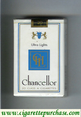 Chancellor Ultra Lights cigarettes
