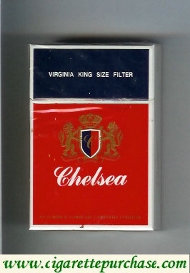 Chelsea virginia king size filter cigarettes