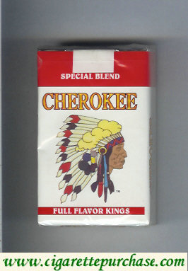 Discount Cherokee Special Blend cigarettes Full Flavor kings