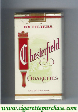 Discount Chesterfield 101 Filter cigarettes