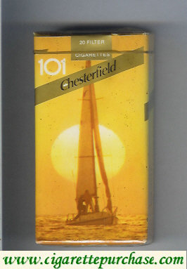 Chesterfield 101 cigarettes Filter