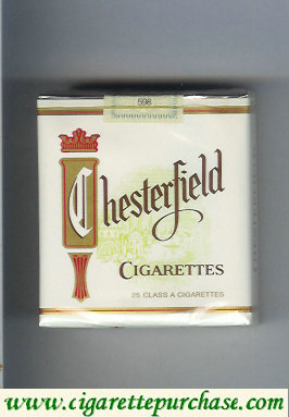 Chesterfield 25 cigarettes non-filter