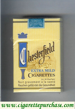 Discount Chesterfield Extra Mild cigarettes
