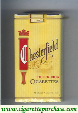 Chesterfield Filter 100s cigarettes