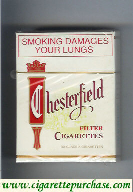 Discount Chesterfield Filter 30 cigarettes South Africa and USA