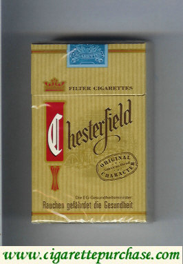 Chesterfield Filter cigarettes germany