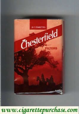 Discount Chesterfield Filter cigarettes red