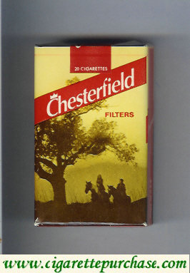 Discount Chesterfield Filter cigarettes yellow