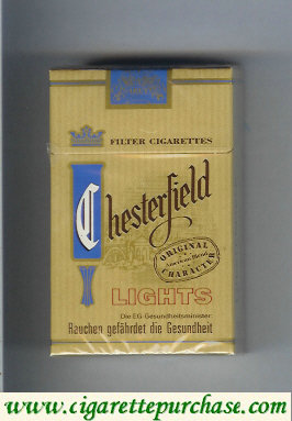 Chesterfield Lights cigarettes Germany