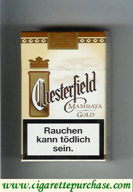 Discount Chesterfield Mambaya Gold cigarettes