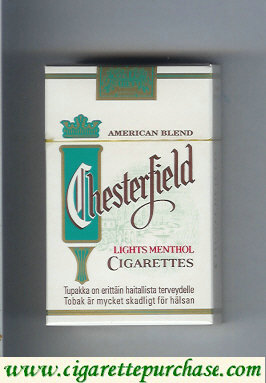 Discount Chesterfield Menthol Lights cigarettes