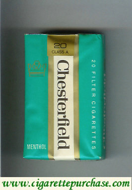 Discount Chesterfield Menthol cigarettes Filter
