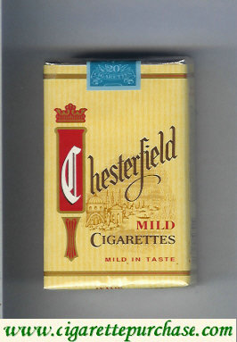 Discount Chesterfield Mild cigarettes soft box