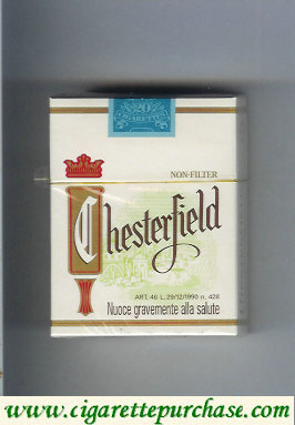 Discount Chesterfield Non-Filter cigarettes