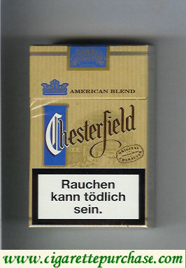 Discount Chesterfield Original Character cigarettes American Blend