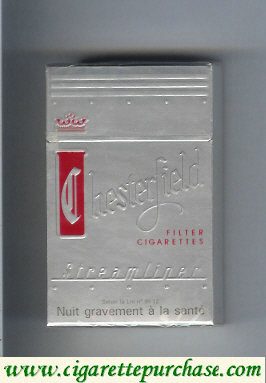 Discount Chesterfield Streamliner Filter cigarettes