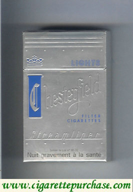 Discount Chesterfield Streamliner Lights cigarettes