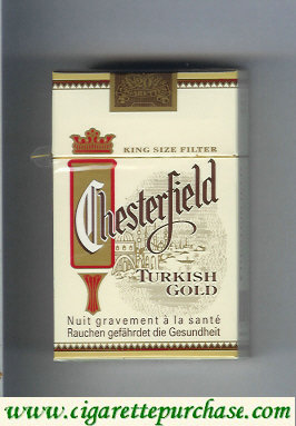 Discount Chesterfield Turkish Gold cigarettes